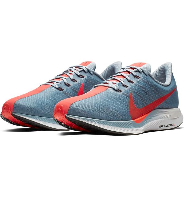 55b4acf651a69 Nike Zoom Pegasus Turbo Running Shoe In Obsidian Mist  Crimson  Grey ...