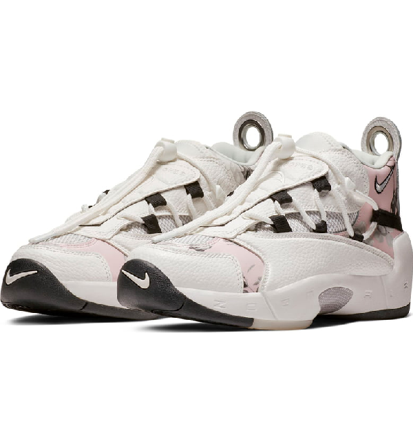 ac98e99f020 Nike Air Swoopes Ii Sneaker In White  White  Black