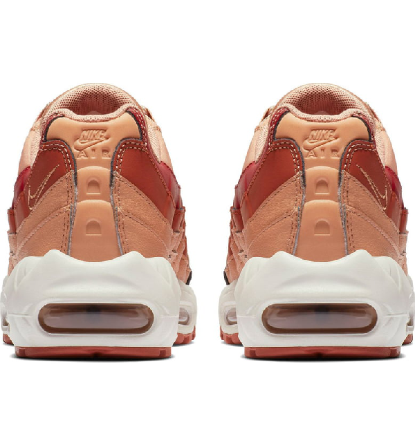 569d5b1113 Nike Air Max 95 Suede And Leather Sneakers In Blush | ModeSens