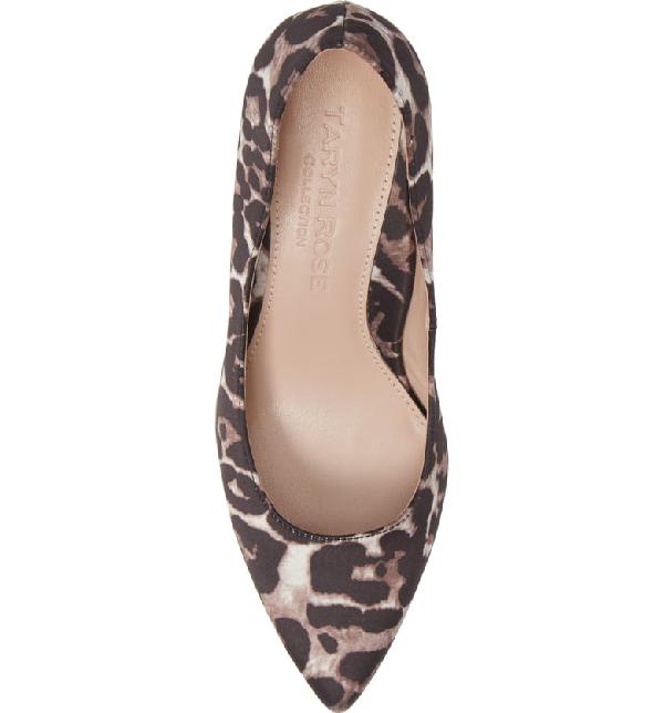 c6a1ca166983 Taryn Rose Women's Gabriela Leopard Print Pumps In Leopard Print Fabric