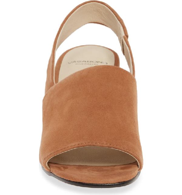 f5d7d969cc Vagabond Shoemakers Elena Slingback Sandal In Nougat Suede | ModeSens