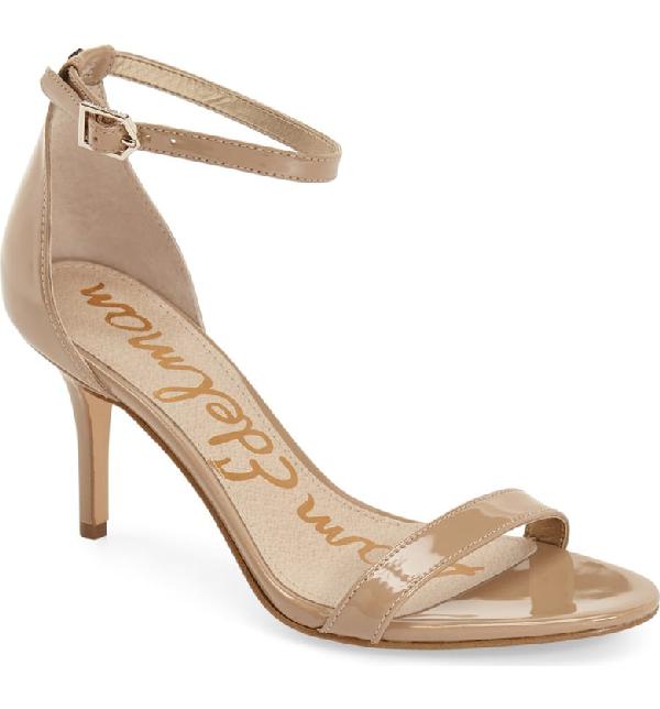 3d1e80ea97c Sam Edelman Women s Patti Open Toe Leather High-Heel Sandals In Classic Nude