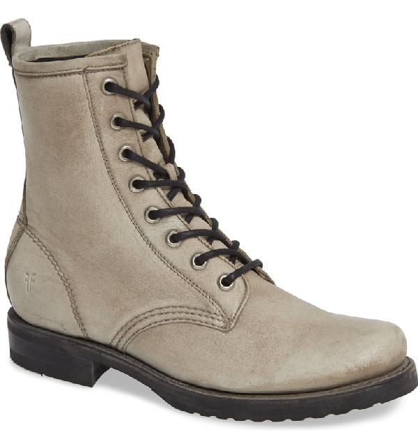 69fdf0907 Frye Veronica Combat Boot In Grey/ Grey | ModeSens