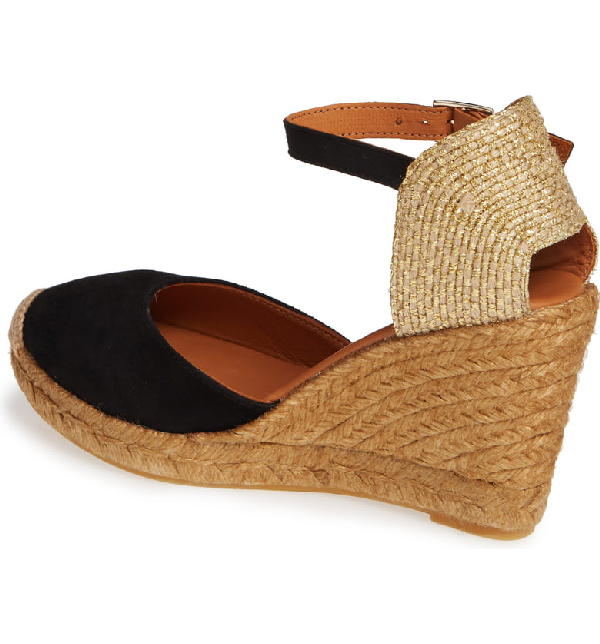 d34772ab773 Monty Espadrille Wedges 90 in Black