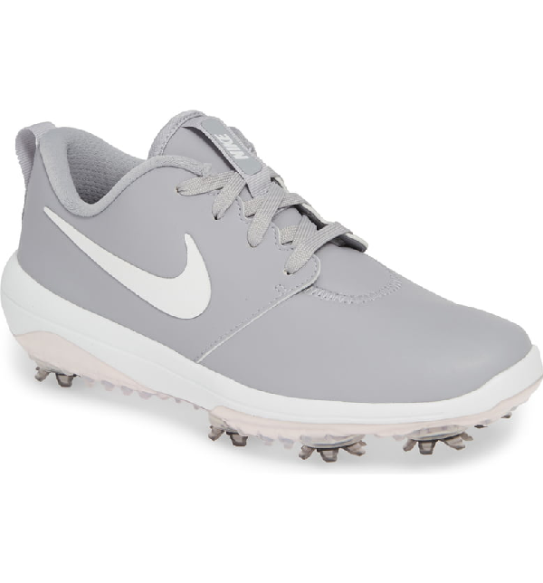 separation shoes 600c9 224e0 Nike Roshe G Tour Waterproof Golf Shoe In Grey  Metallic White  White