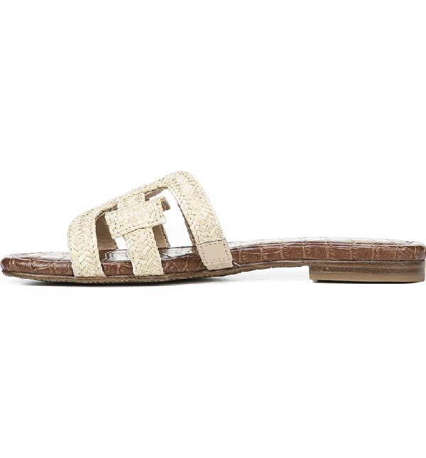 0acc3b58f Sam Edelman Women s Beckie Woven Slide Sandals In Natural