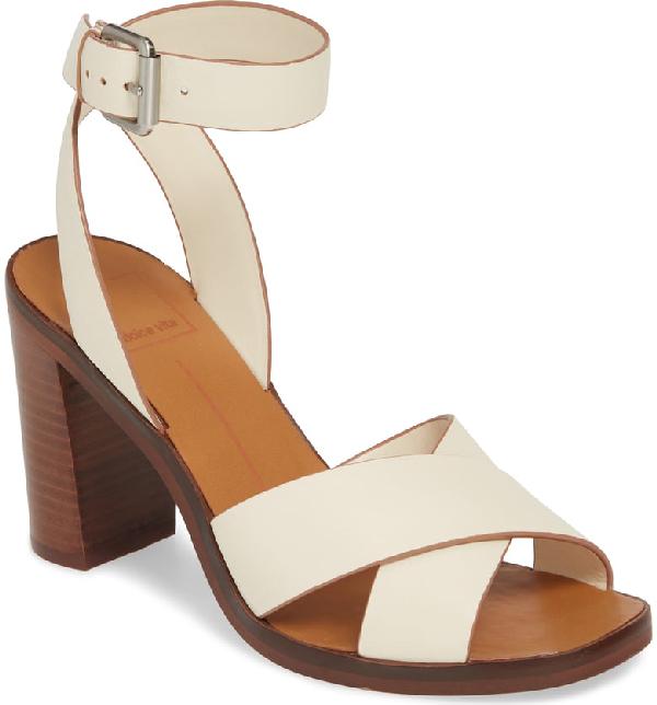 80b201b32f Dolce Vita Nala Sandal In Ivory Leather | ModeSens