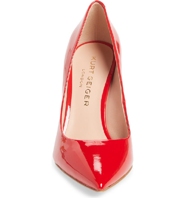 ef3026d7b4d Women's Britton Pointed-Toe Pumps in Red Patent Leather