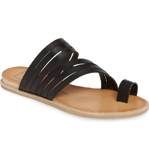 3a13c67bcc Dolce Vita Women's Nelly Strappy Leather Sandals In Black Leather ...