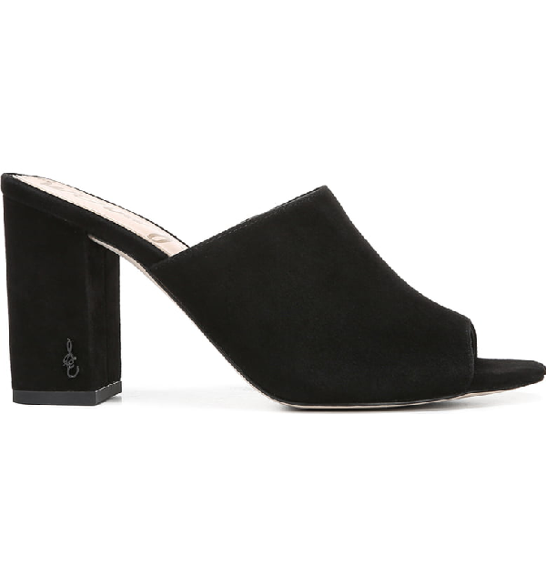 0c049bdde704d Sam Edelman Women's Orlie Open-Toe Block-Heel Mules In Black | ModeSens