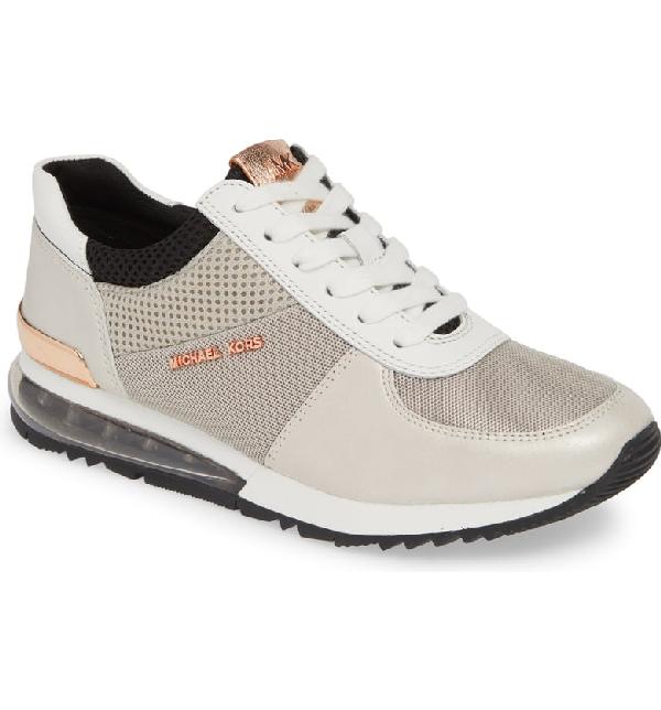 95a27c66446 Michael Michael Kors Allie Extreme Trainer Sneaker In Aluminum ...