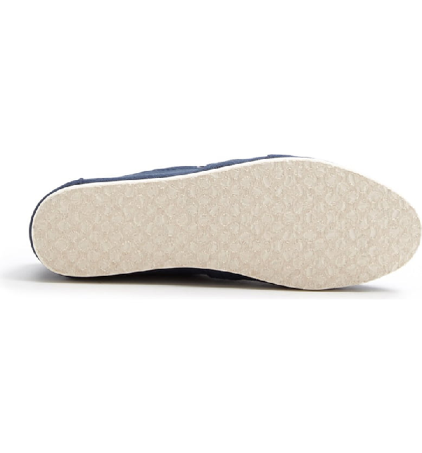 Toms Personalized Classic Canvas Slip-On In Navy