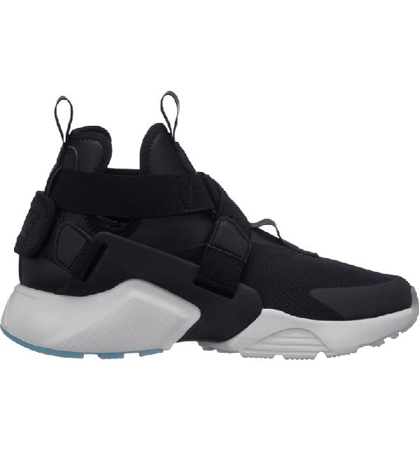 86ebac02e098 Nike Air Huarache City Sneaker In Black  Black  White  Ice
