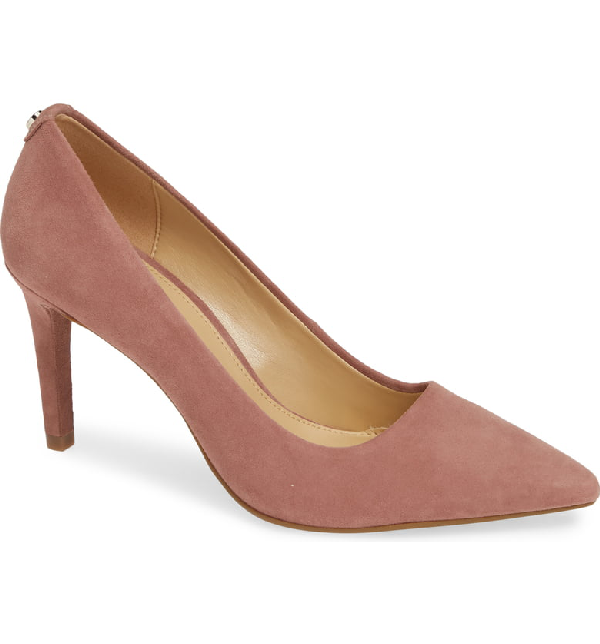 dbf16558ce3 Michael Michael Kors Dorothy Flex Suede Pump In Dusty Rose