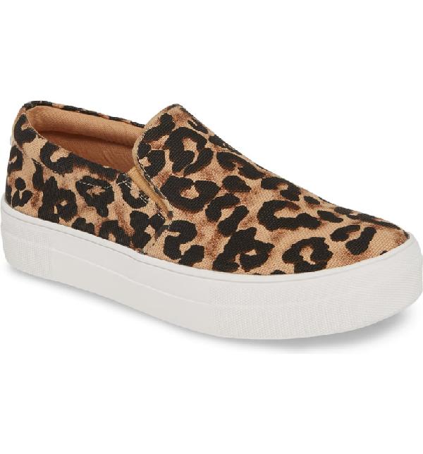 d4cb2cbfcd8 Steve Madden Gills Platform Slip-On Sneaker In Leopard Print | ModeSens