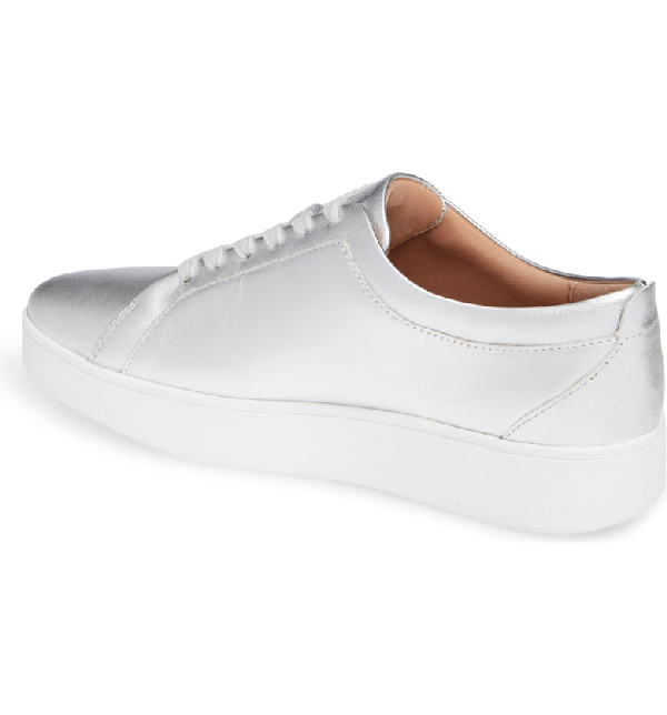 7449ed9bc Fitflop Rally Sneaker In Silver