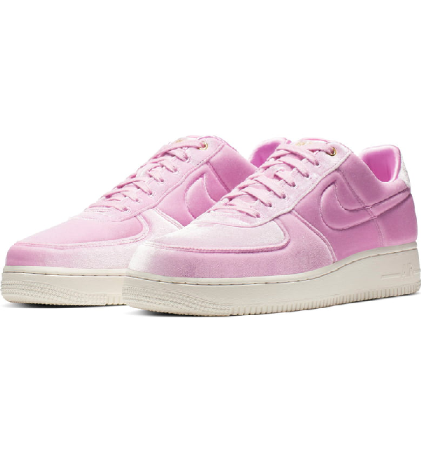 buy online 714f4 b8086 Nike Air Force 1  07 Premium 3 Sneaker In Pink Rise  Sail  Metallic