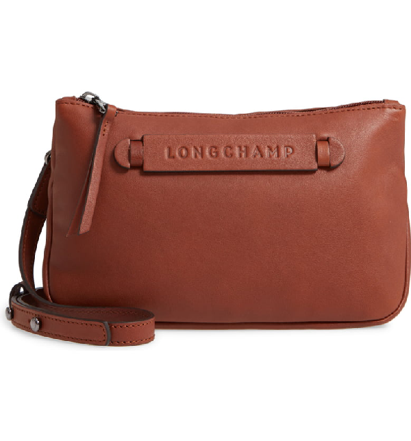 e33ff28709 Longchamp 3D Leather Crossbody Bag - Brown In Cognac. Nordstrom
