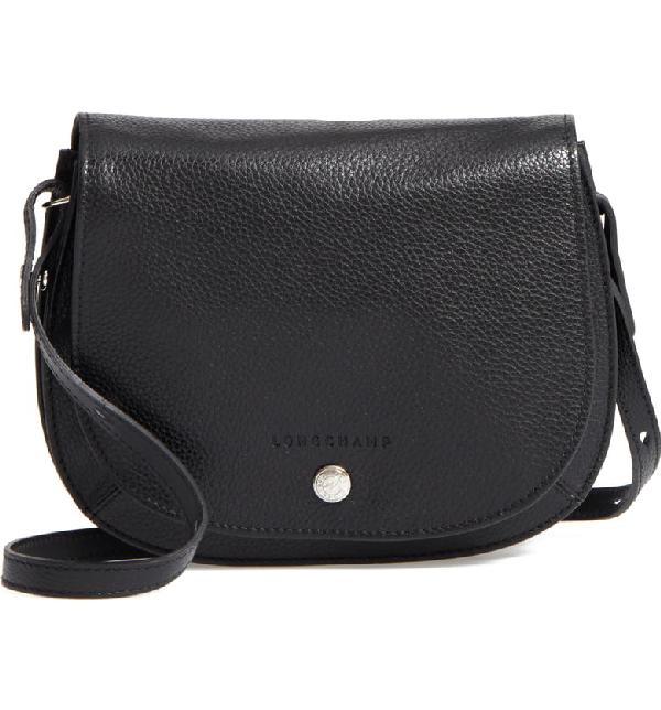 8826e121ac Longchamp Le Foulonne Small Leather Cross Body Bag In Black   ModeSens