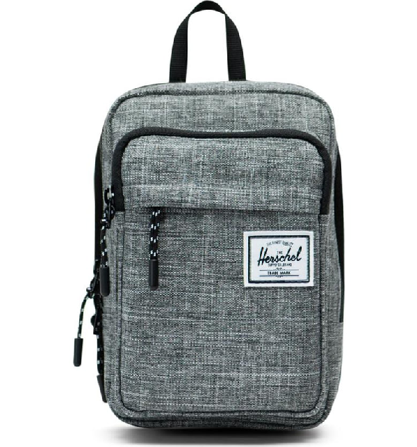 4db2b56aa295 Herschel Supply Co. Large Form Shoulder Bag - Grey In Raven Crosshatch