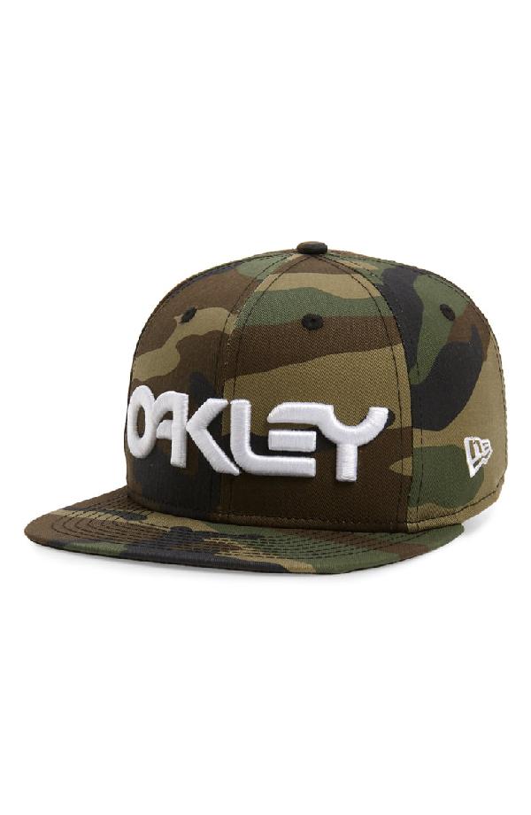 41aa1244 Oakley Mark Ii Embroidered Baseball Cap - Green In Core Camo   ModeSens
