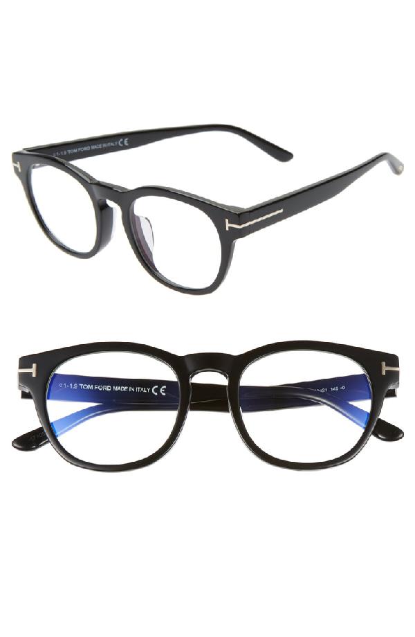 ff44203b00 Tom Ford 50Mm Blue Light Blocking Glasses - Black
