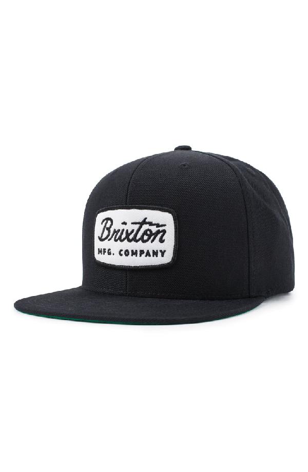 681e0880961326 Brixton 'Jolt' Snapback Cap - Black In Black/ White   ModeSens