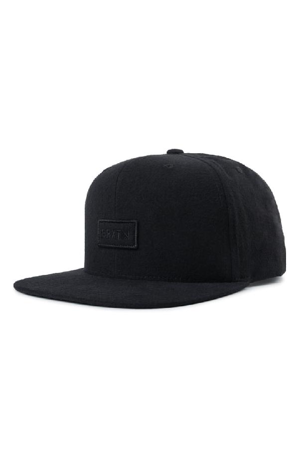 c978ffe650af4 Brixton Rift Ii Flat Brim Baseball Cap - Black