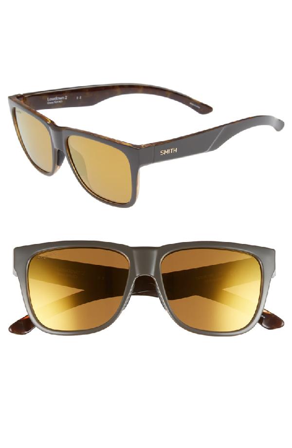 d8b2f0315e Smith Lowdown 2 55Mm Chromapop(Tm) Polarized Sunglasses - Gravy Tortoise   Bronze Mirror