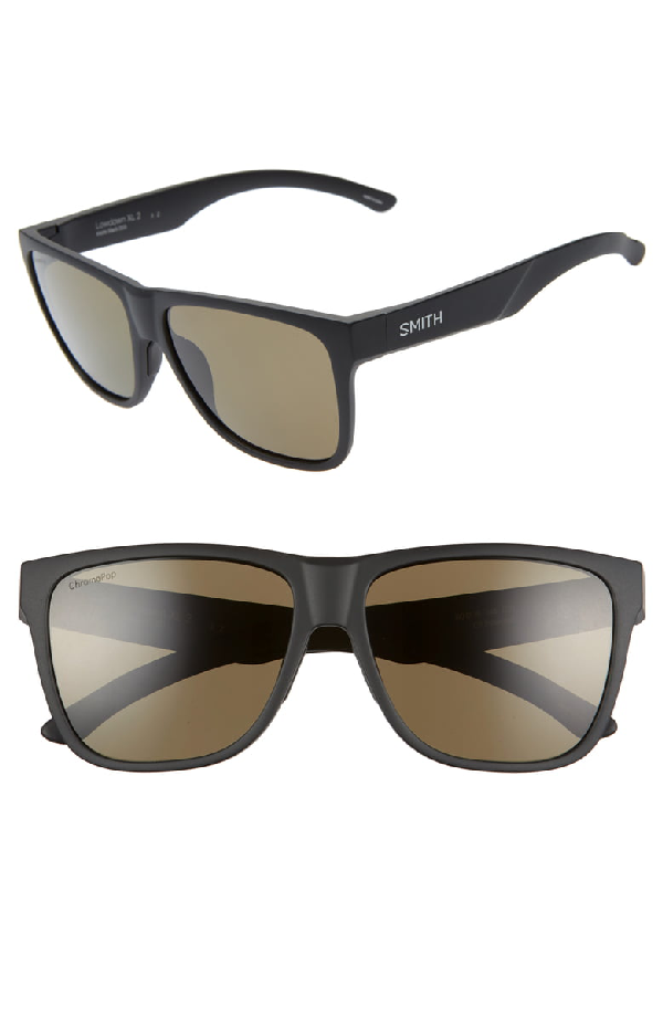 43807a3cdef5f Smith Lowdown Xl 2 60Mm Chromapop(Tm) Polarized Sunglasses - Matte Black