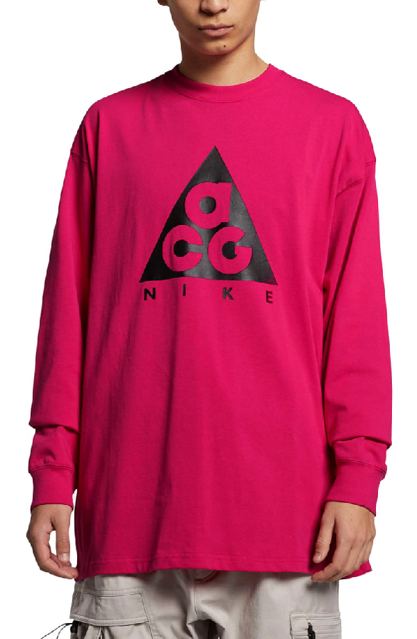 new concept 96c23 8c5e0 Nike Logo T-Shirt In Rush Pink