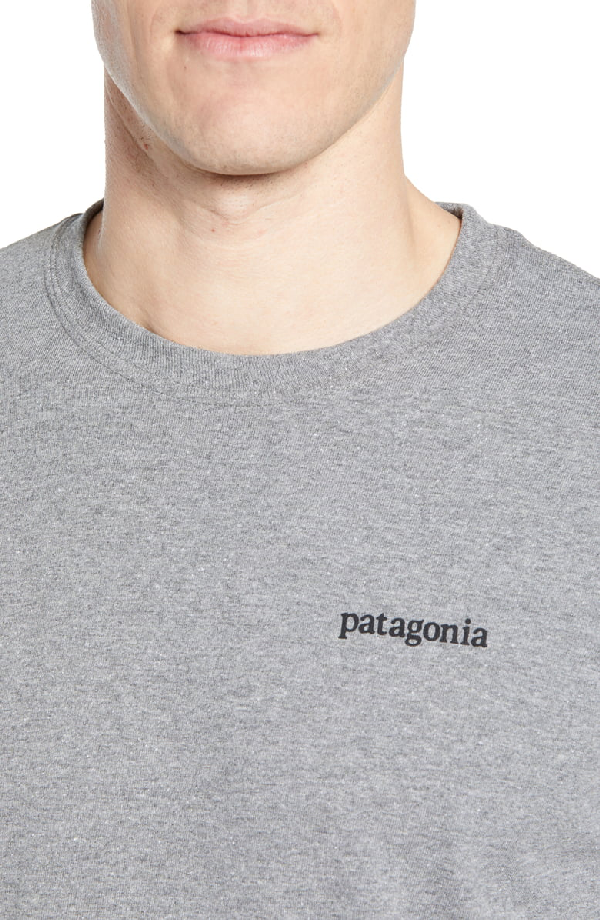 PATAGONIA LINE LOGO LONG SLEEVE RESPONSIBILI-TEE T-SHIRT,38436