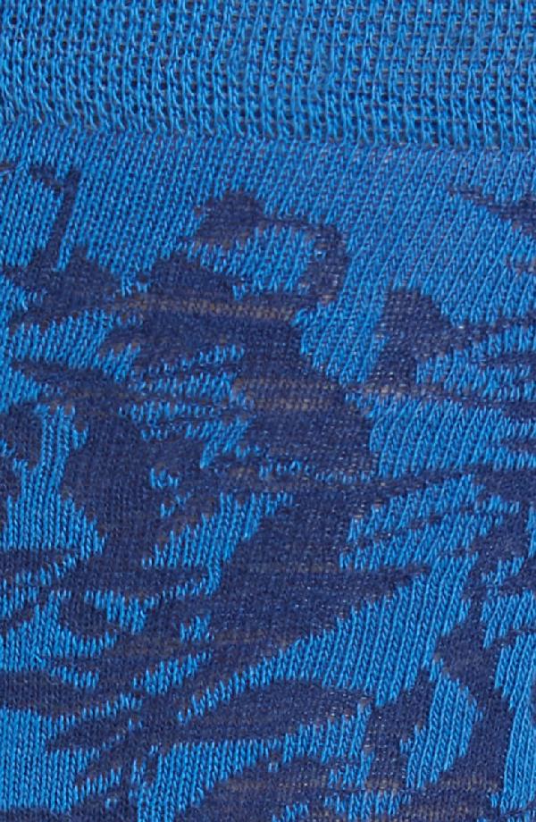 Ted Baker Anemone Leaf Socks In Blue