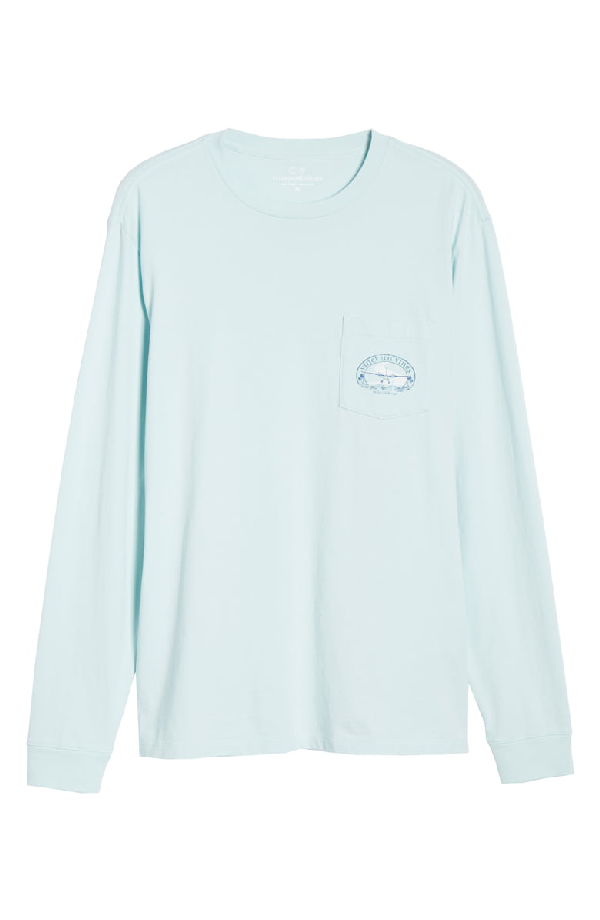 a804e6899 Vineyard Vines No Runways T-Shirt In Misty Blue   ModeSens