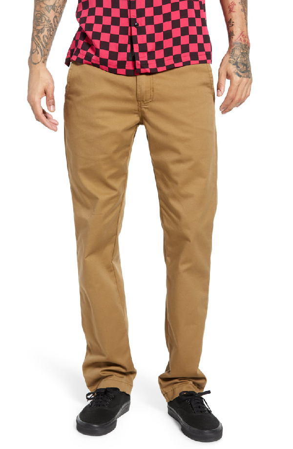 cfe319c8 Authentic Slim Fit Stretch Chinos in Dirt