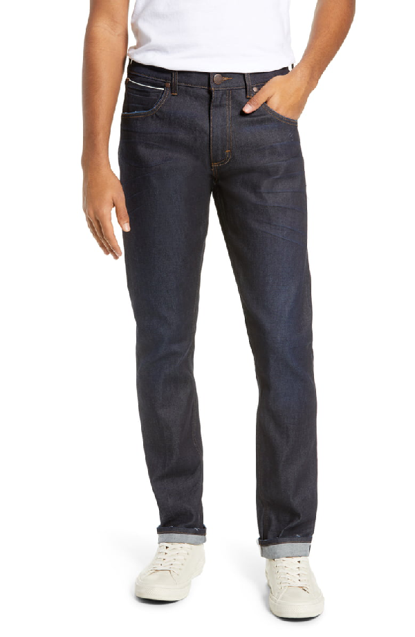 de9b8620 Wrangler Larston Tapered Slim Fit Jeans In Selvedge Resin | ModeSens