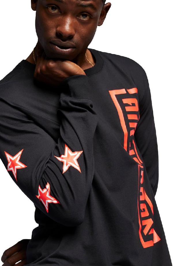 ade7304038a112 Nike Men s Jordan City Of Flight Long Sleeve T-Shirt