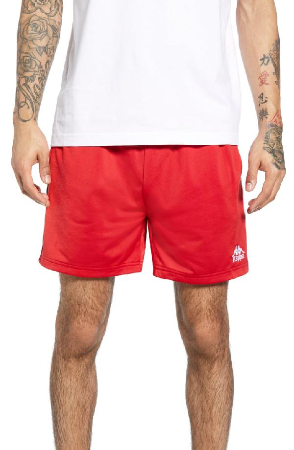 0945da5a 222 Banda Cole Athletic Shorts in Red/ Black/ White