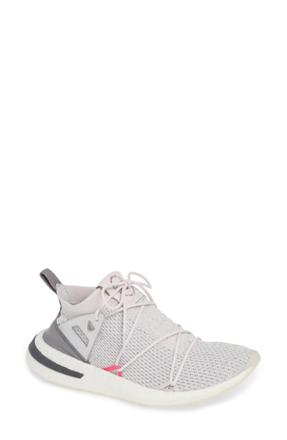 dde04a2b5 Adidas Originals Women s Arkyn Knit Lace Up Sneakers In Orchid Tint  Orchid  Tint  Grey