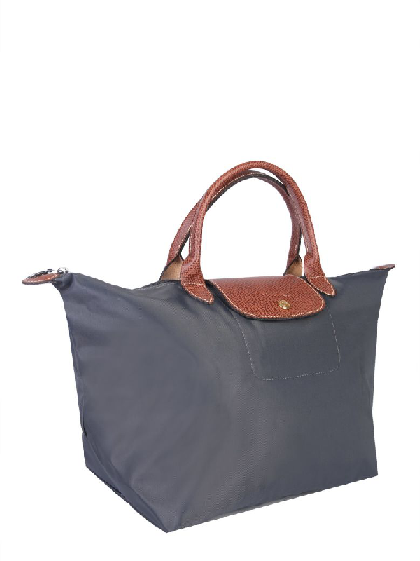 ad825cafb30 Longchamp Medium Le Pliage Bag In Grigio | ModeSens