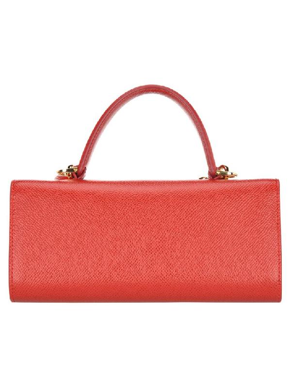 Freiraum suchen heiß-verkaufendes spätestes retro Mini-Tasche Mit Vara-Schleife in Red