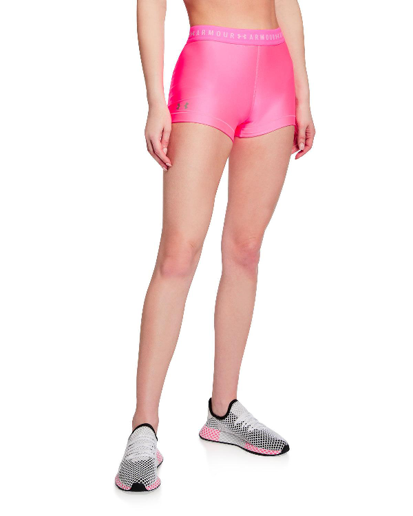 a8ec7eba Under Armour Heatgear Armour Shorty In Pink/Silver | ModeSens