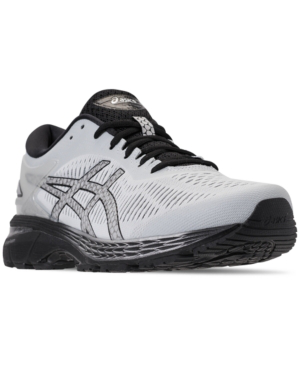 a50f5ccd6 Asics Men s Gel-Kayano 25 Wide Width Running Sneakers From Finish Line In Glacier  Grey