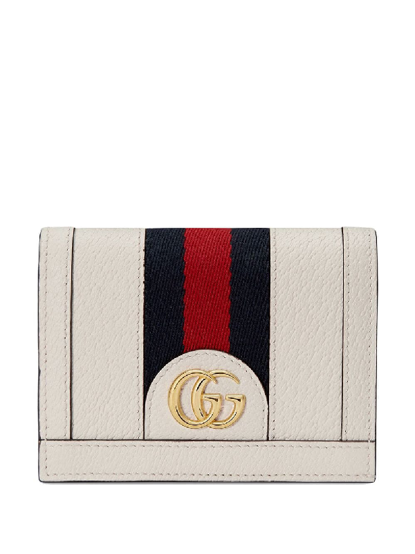 3dbb046c29e2 Gucci - Ophidia Card Case Wallet In White | ModeSens