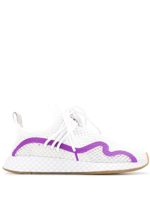buy online 56e46 c1cc5 Adidas Originals Adidas Deerupt S Runner Sneakers - White