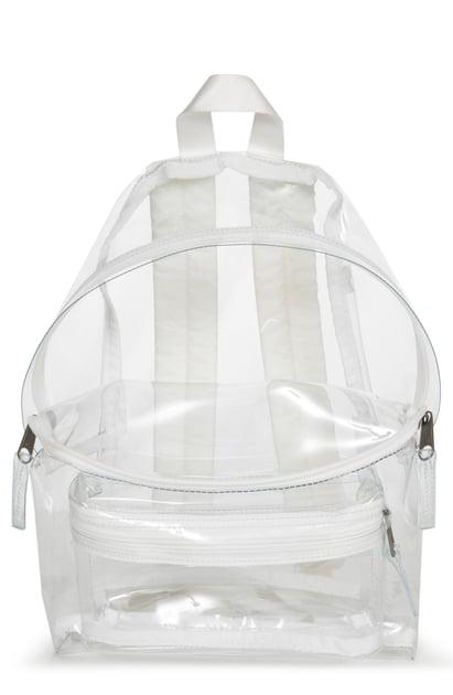 grote korting laag geprijsd frisse stijlen Orbit Clear Backpack - White in Glass