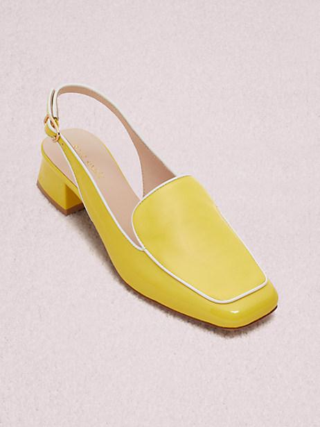 6644b4b6293 Kate Spade Sahiba Pumps In Yellow White