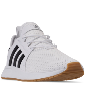 26ebae5857 Adidas Men's X Plr Casual Sneakers From Finish Line in Ftwr White/Core  Black/Gum