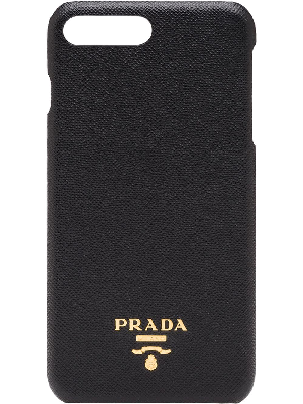PRADA iphone 7 cover Safiano leather GIALLO Smafo cover yellow