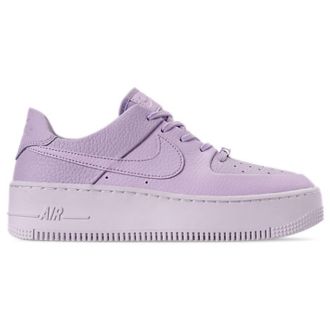 newest 76e83 d4271 Women's Af1 Sage Xx Low Casual Shoes, Purple in Oxygen Purple/ White